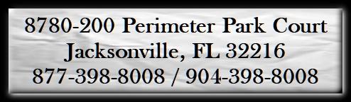 8780-200 Perimeter Park Court, Jacksonville, FL 32216 877-398-8008/904-398-8008