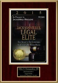 Jacksonville's Legal Elite, 2015